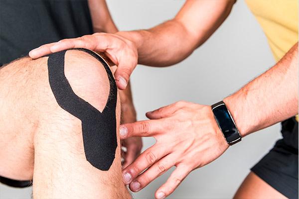Schmerzreduktion für Knie und Rücken